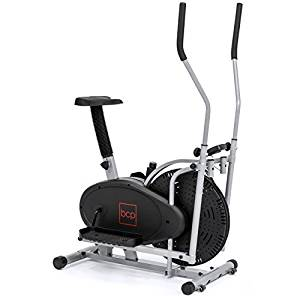 Best Choice Products Elliptical Bike 2-in-1 Cross Trainer Exercise Fitness Machine