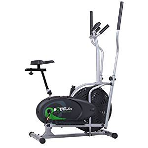 Body Rider BRD2000 Elliptical Trainer and Exercise Bike Trainer