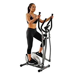 Elliptical Trainer with Hand Pulse Monitoring System by Sunny