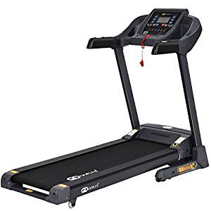 GoPlus 2.5HP Folding Treadmill with App Control