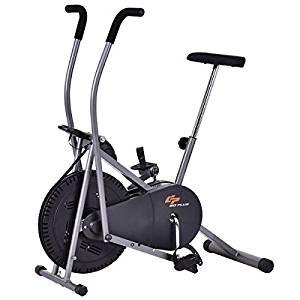 Goplus Elliptical Upright Exercise Fan Bike