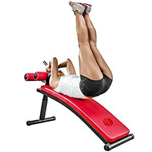 Gym-Quality Sit Up Bench with Reverse Crunch Handle