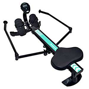 Harvil Hydraulic Rowing Machine Adjustable Resistance with Folding Arms