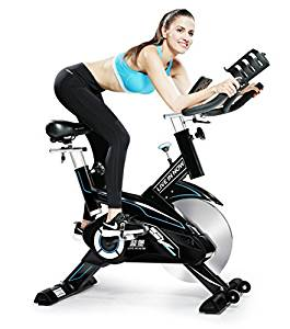 Indoor Cycling Bike Trainer Belt Drive and Sturdy