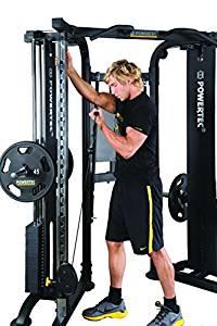 Powertec Fitness Functional Trainer Deluxe, Black