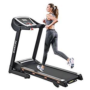 Shayin Portable Folding Running Indoor Treadmill Machine