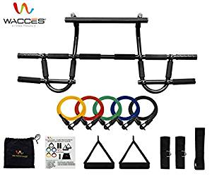 Wacces Chin up Pull up Bars and Resistance Bands Perfect