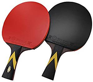 2- Player PASOL 7 Star Premium Ping Pong Paddle Professional Match Table Tennis Racket