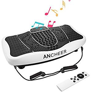 Ancheer USB Speaker Fitness Message Vibration Plate Whole Full Body Shaped Workout Exercise