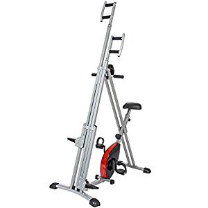 Best Choice Total Body 2-In-1 Vertical Climber and Exercise Bike