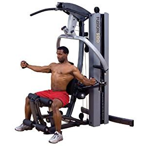 Body Solid Fusion F500/2 Home Gym with 210-Pound stack