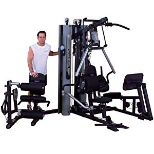 Body Solid G10B-LP Bi-Angular Gym with Leg Press Attachment