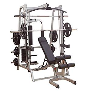 Body Solid Series 7 Smith Gym Package w/ 400 lb Weight Set