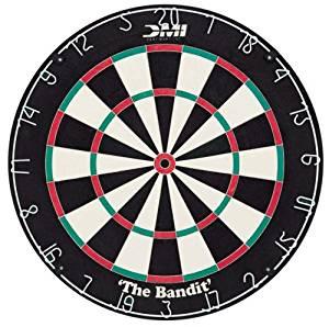 DMI Sports Bandit Staple-Free Bristle Dartboard