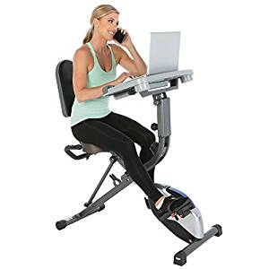 Exerpeutic WorkFit Folding Exercise Bike