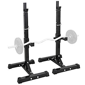 F2C Max Load 550Lbs Pair of Adjustable 41″-66″ Rack