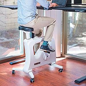 Flexispot Home Office Exercise Desk Bike Standing Folding Desk Indoor Cycle