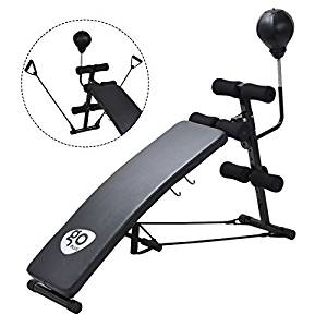 Goplus Adjustable Sit Up AB Incline Abs Bench
