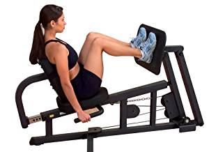 Leg press attachment for Body-Solid G Series home gyms