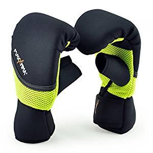 MaxxMMA Neoprene Washable Heavy Bag Gloves – Boxing Punching Training