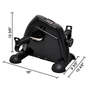 MedMobile Digital Mobility Aid Pedal Exerciser for Arms & Legs