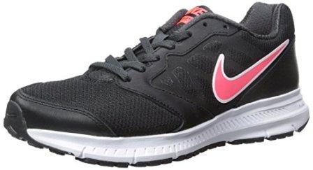Nike Women's Downshifter 6 Black/Hyper Punch/Anthracite Running Shoe
