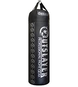 Outslayer Filled Punching Bag for Boxing and MMA, 80lb