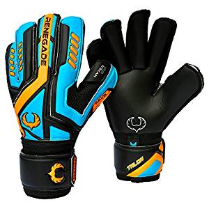 Renegade GK Vulcan Goalie Gloves With Removable Pro Fingersaves