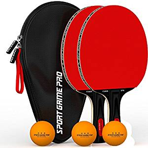 Sports Game Pro Ping Pong Paddle with Killer Spin
