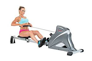 Sunny Health & Fitness SF-RW5508 Ultra Tension Magnetic Pro Rowing Machine