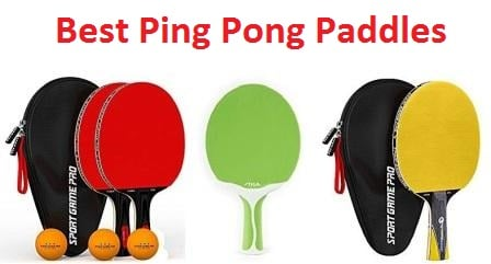 Top 20 Best Ping Pong Paddles in 2018