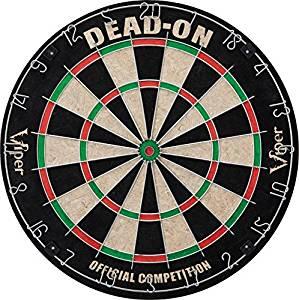 Viper Dead-On Sisal, Steel Tip Dartboard