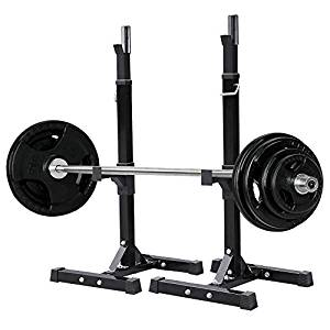 Yaheetech 2pcs Adjustable Rack