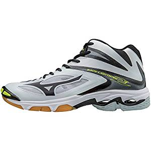 mizuno volleyball shoes half white half black 900mah