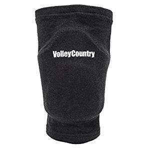 VolleyCountry Volleyball Knee Pads – Black