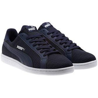 PUMA Men's Smash Knit Fashion Sneakers