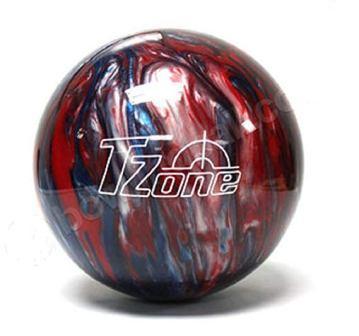 Brunswick TZone Patriot blaze bowling ball