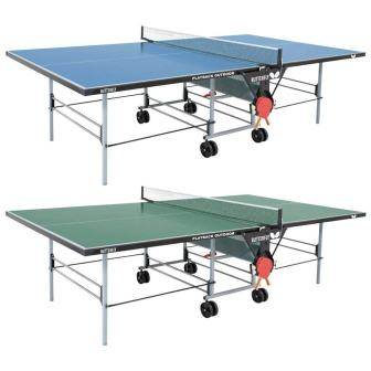 Butterfly Playback Rollaway Outdoor Table Tennis Table