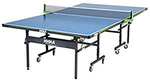 ff7f3f4e28a It is JOOLA Outdoor Aluminum Table Tennis Table with Weatherproof Net Set
