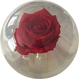 KR Clear Red Rose Bowling Ball
