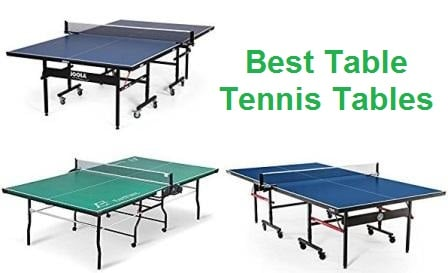 Top 15 Best Table Tennis Tables in 2018