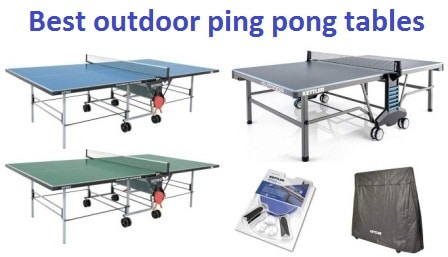Top 15 Best outdoor ping pong tables in 2018