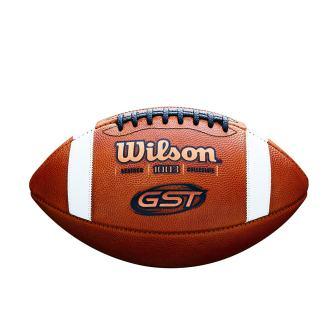 Wilson GST NCAA Leather Game Football
