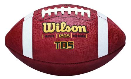 Wilson TDS Leather Football - Official Size