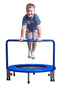 Pleny 36″ Kids Mini Trampoline with Handle
