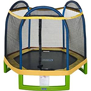 QWESEN Bounce Pro 7 My First Indoor / Outdoor Entry Level Trampoline