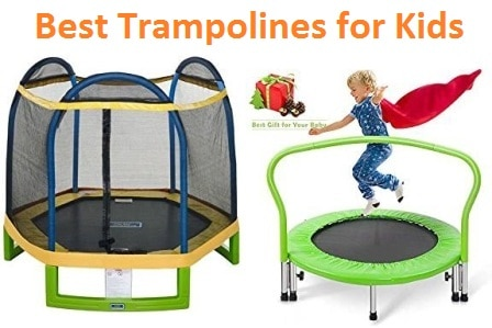 Top 20 Best Trampolines for Kids in 2019