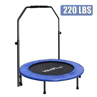 Wolfyok Exercise Trampoline with Safety Pad