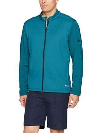 Adidas Golf Men's Climaheat Hybrid Full Zip Jacket