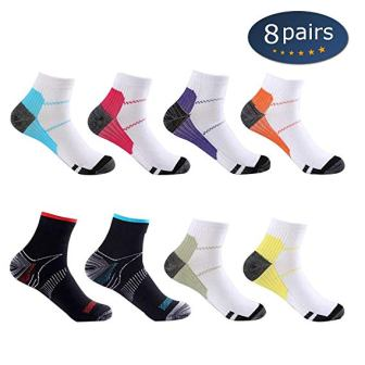 Compression Socks (3/6/7 Pairs), 15-20 mmHg